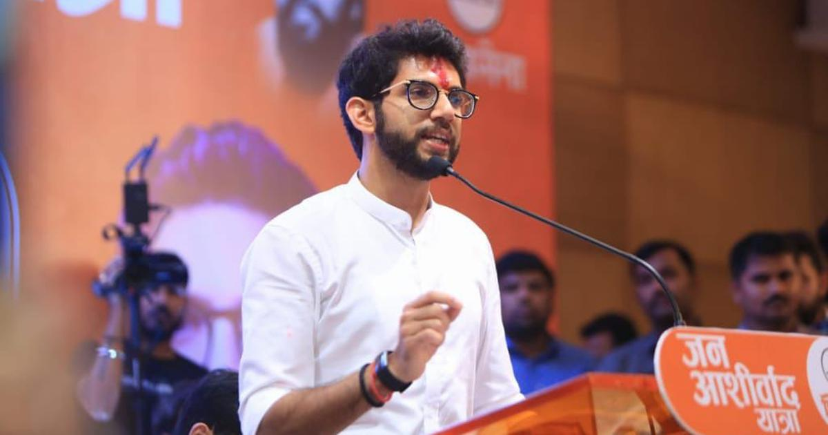 Why is Aaditya Thackeray protesting Aarey tree cutting when his Shiv Sena holds power in Mumbai?