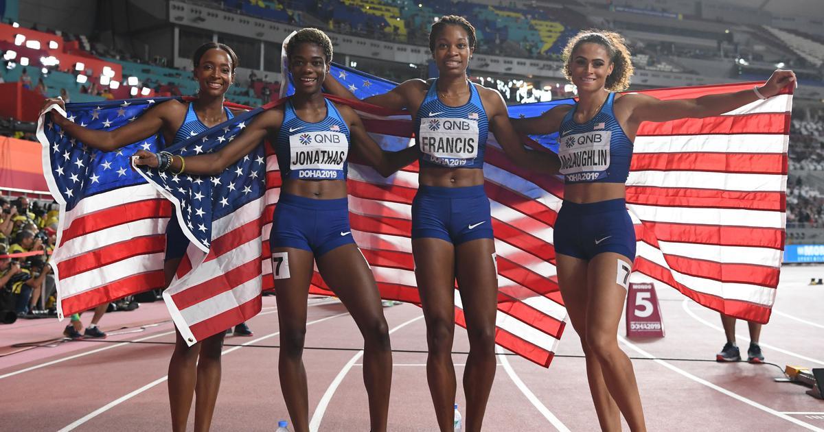 विश्व एथलेटिक्स चैंपियनशिप में अमेरिका के शीर्ष पर रहने सहित इस वक्त खेल जगत की बड़ी खबरें