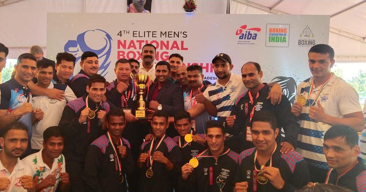 Men's Boxing Nationals: Hussamudin, Prasad clinch gold as Services continue their domination