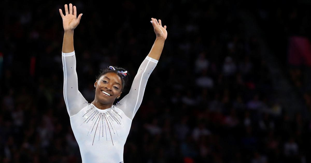Watch: Simone Biles trying out a new daring vault routine ahead of 2020 Tokyo Olympics