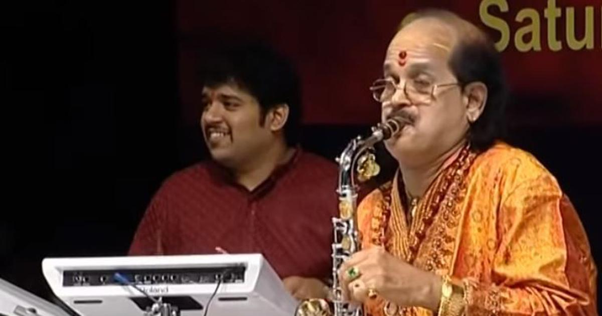 Saxophone legend Kadri Gopalnath passes away!