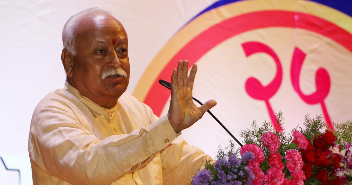 Muslims in India most content in the world, says RSS chief Mohan Bhagwat