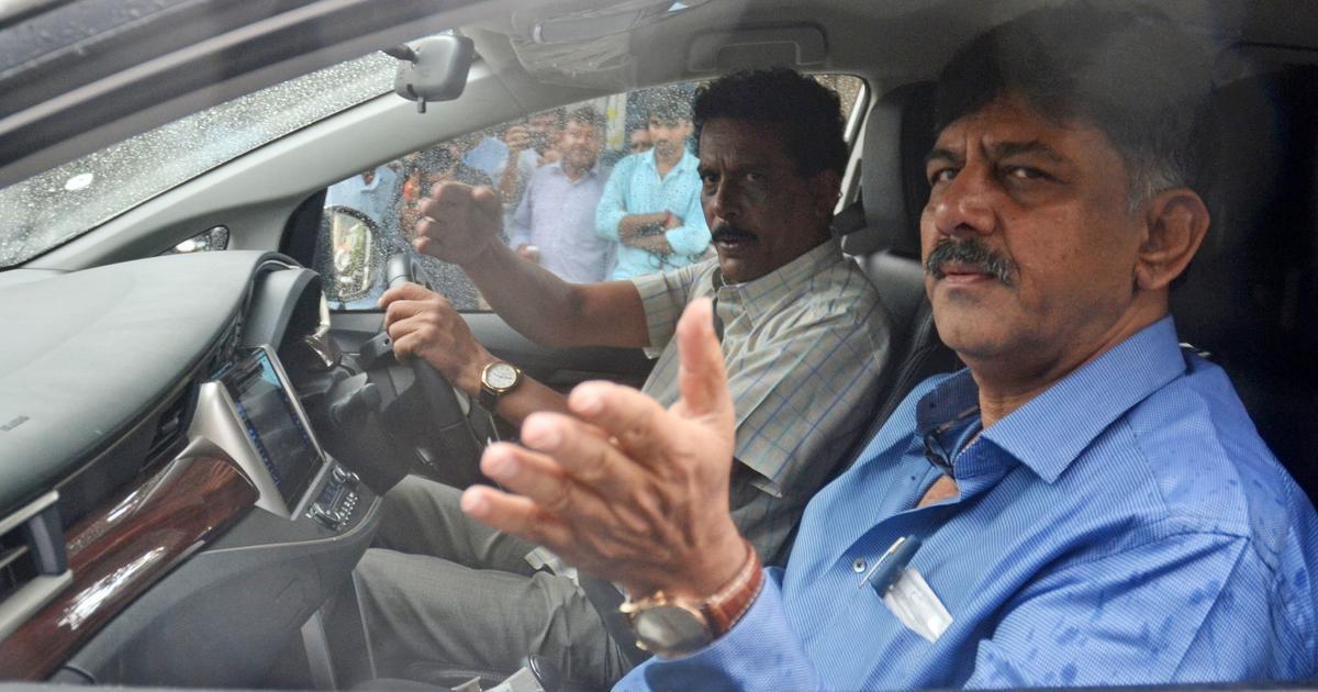Delhi court extends Congress leader DK Shivakumar's judicial custody till October 25