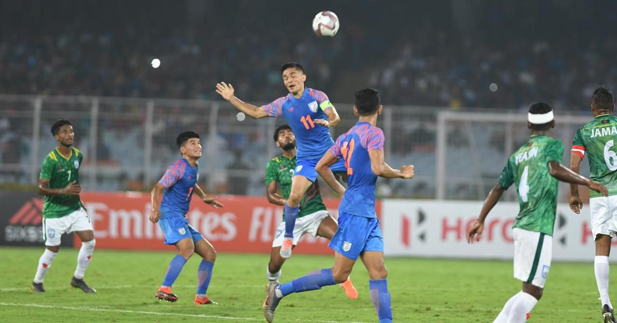 We couldn't capitalise on the chances we got: India captain Chhetri after Bangladesh draw