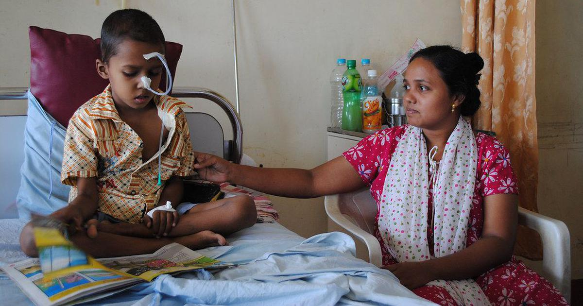 75,000 Indian children are diagnosed with cancer annually ...