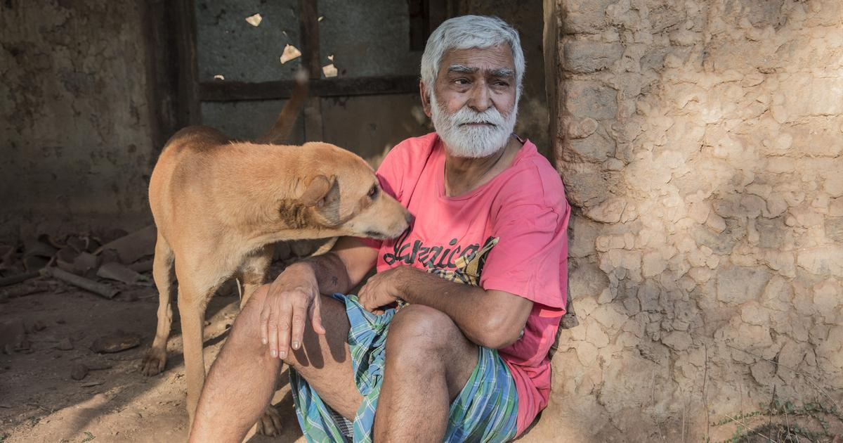 An old man and his dog have something to say about coal mining in Chhattisgarh