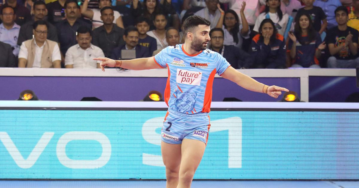 Pro Kabaddi: Meet Iran's Mohammad Nabibakhsh, the joker in the pack for triumphant Bengal Warriors