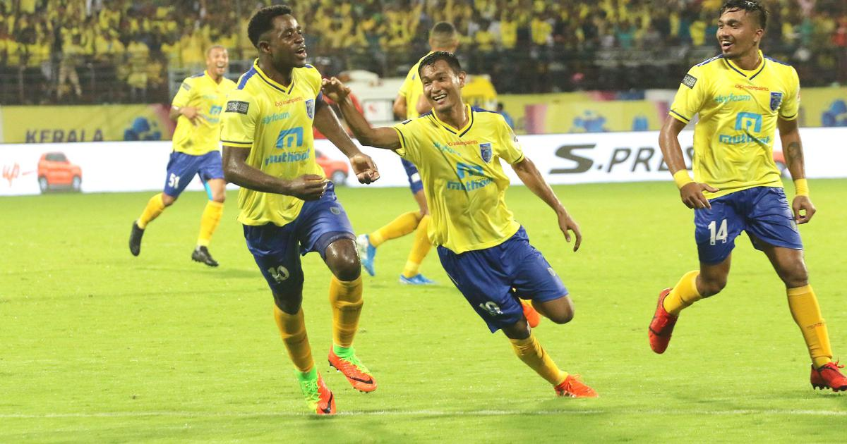 ISL: New signing Ogbeche scores twice as Kerala Blasters start campaign with 2-1 win over ATK