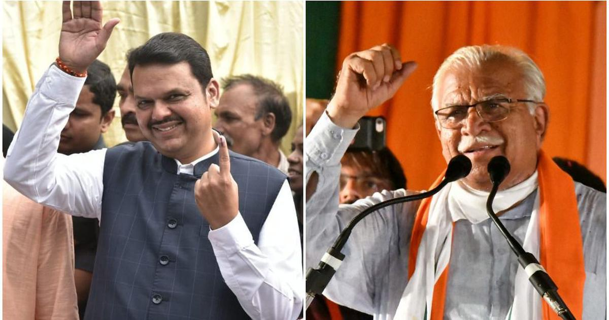 BJP-Shiv Sena will win over 200 seats, say most exit polls; big saffron surge predicted in Haryana
