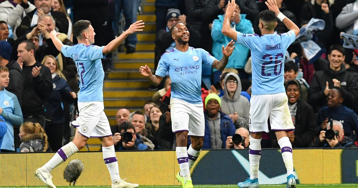 I should have had four: Sterling not satisfied with hat-trick in Man City's Champions League win
