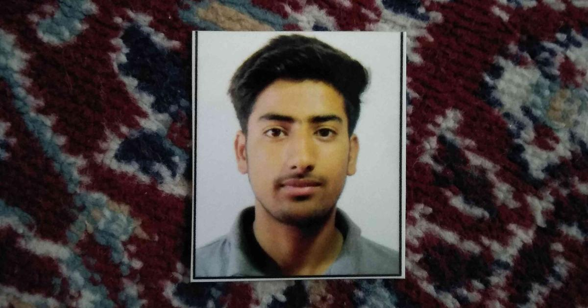 In Kashmir, the family of a boy killed on August 5 is still trying to prove he died