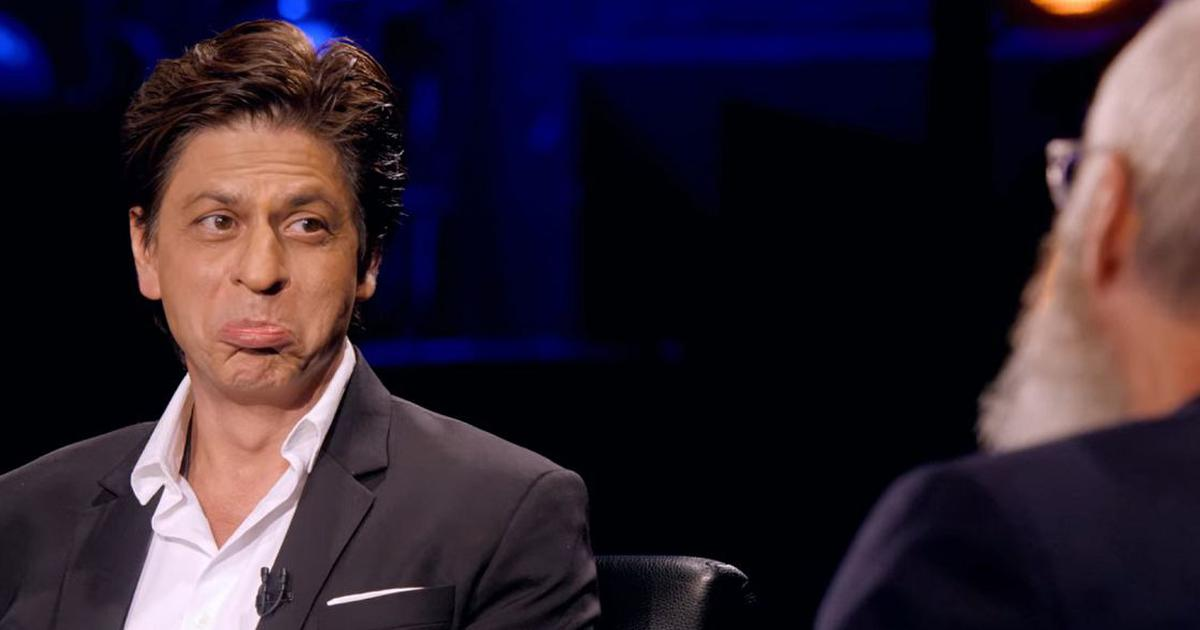 Jab Shah Rukh Khan met David Letterman and effortlessly turned on the charm