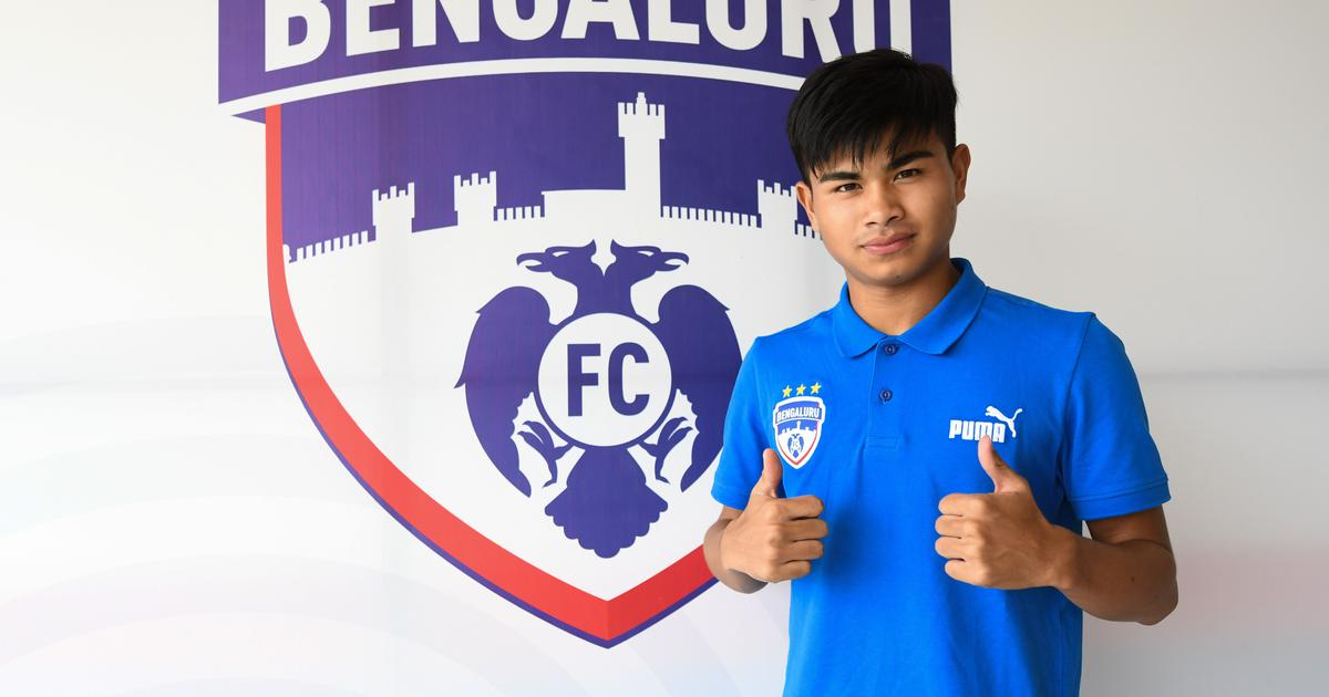 Football: Bengaluru FC's 14-year-old striker Sridarth Nongmeikapam to give trial for Slovenian club
