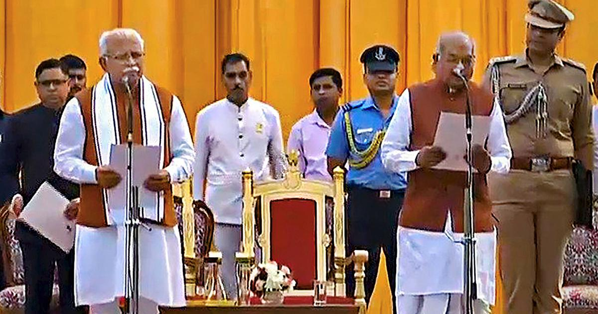 The big news: Haryana CM Manohar Lal Khattar sworn in for second term, and nine other top stories