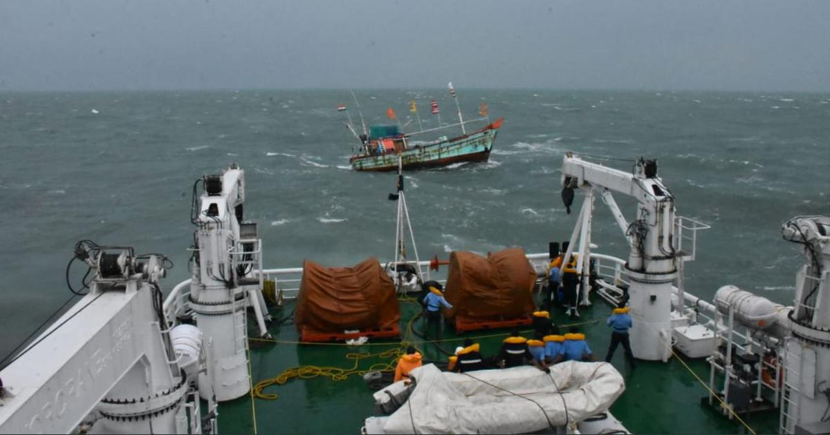 Kyarr intensifies to become first super cyclone in Arabian Sea in 12 years, Coast Guard on alert