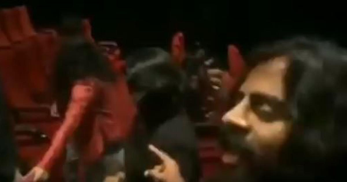 Kannada actor, supporters hound cinema audience for sitting during national anthem