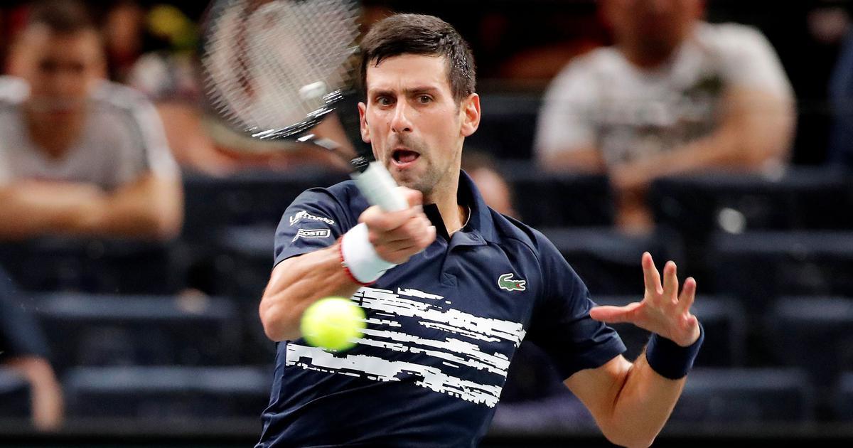 Paris Masters: Novak Djokovic survives scare in opening match, Rafael Nadal sets up Wawrinka clash