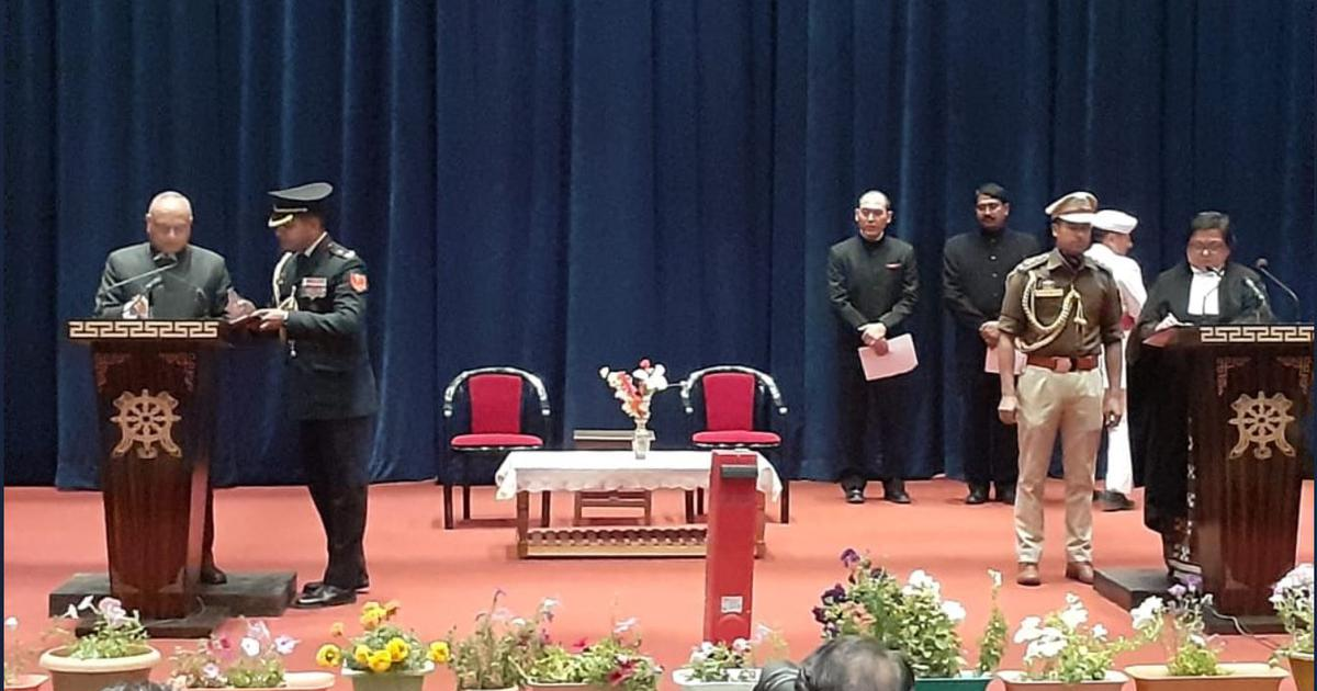 GC Murmu, RK Mathur sworn in as first lieutenant governors of J&K and Ladakh Union Territories