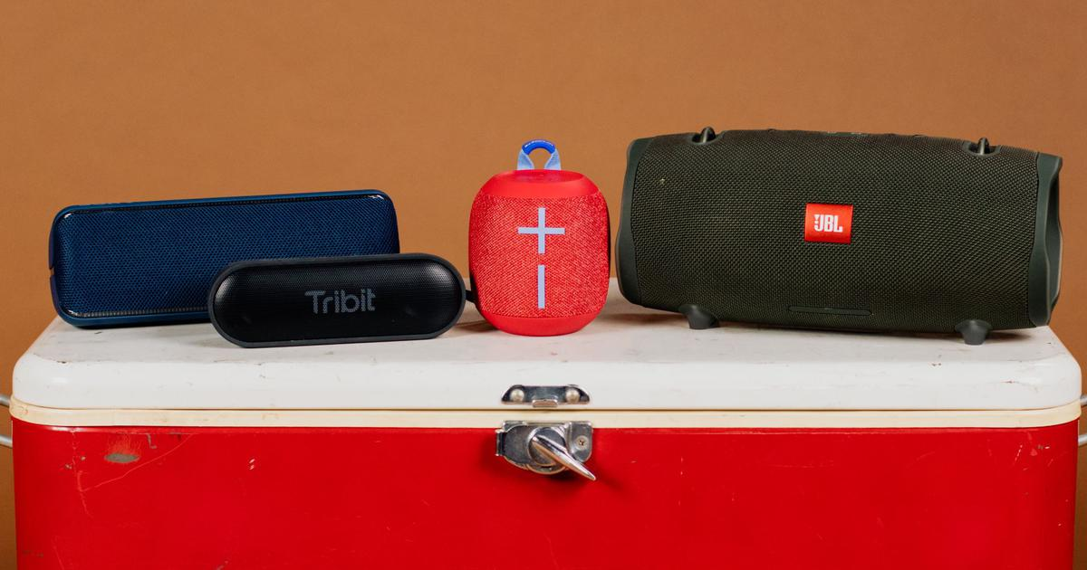 Music on the move: The best portable speakers that are sturdy and sound great