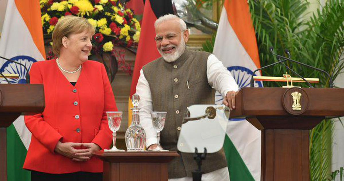 Situation in Kashmir is 'not sustainable', says German Chancellor Angela Merkel on India visit