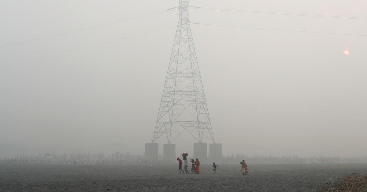 In photos: Delhi struggles to breathe as air pollution hits year's worst levels