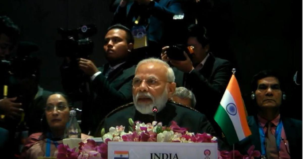 In Thailand, Prime Minister Narendra Modi calls for expansion of ties between India and ASEAN