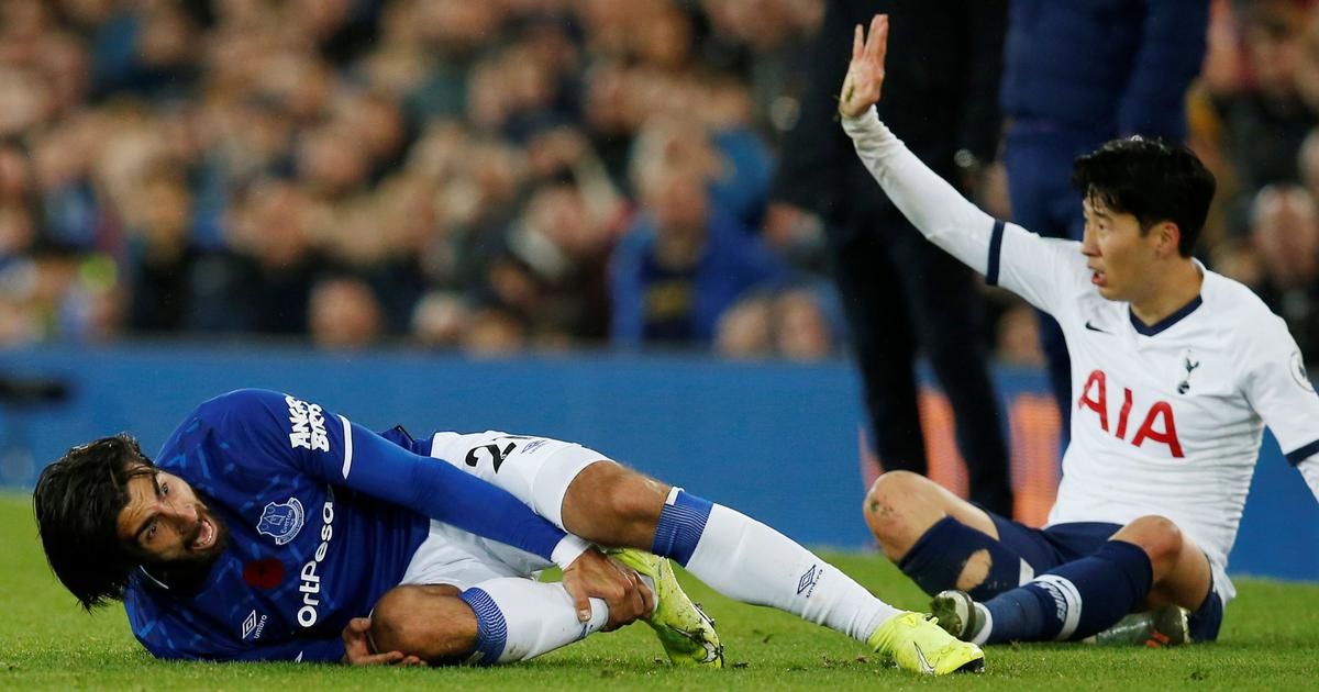 Football: Tottenham Hotspur Son Heung-min's red card for Andre Gomes challenge overturned