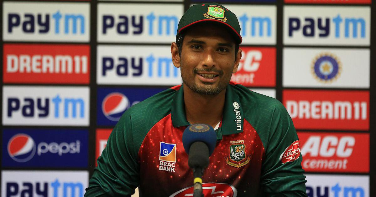 Bangladesh skipper Mahmudullah blamed their feeble batting performance for Rajkot T20I loss. (Picture Source: BCCI)