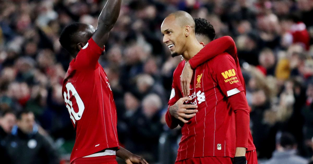 Liverpool defeat Manchester City 3-1 to move eight points clear in Premier League title race