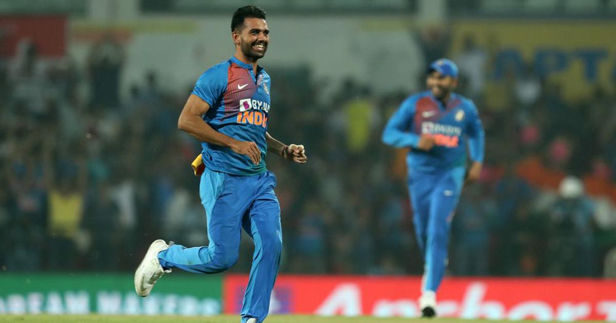 India vs Bangladesh: Twitter toasts to Deepak Chahar's record figures after T20I series win