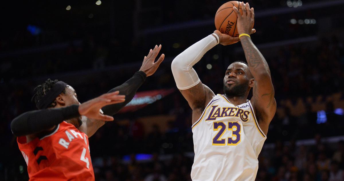 NBA: LeBron James' triple-double not enough as Raptors beat LA Lakers, Bucks down Thunder