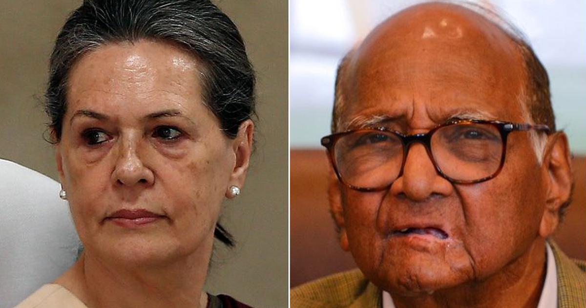 शरद पवार ने अब भी पत्ते नहीं खोले, सोनिया से मुलाकात के बाद कहा - सरकार गठन पर चर्चा नहीं हुई