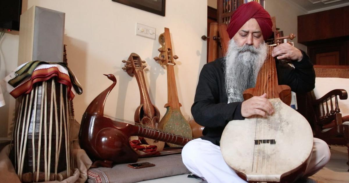 How a champion NCC aero-modeller is reviving the forgotten instruments of the Sikh Gurus