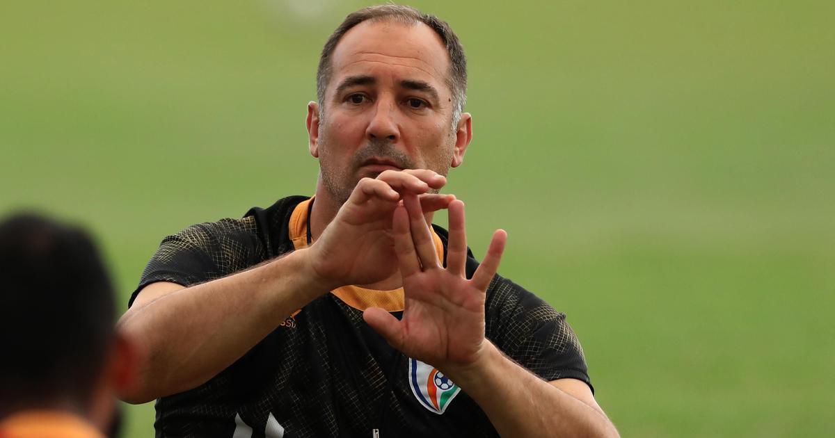 Football: Immediate goal is to qualify for next AFC Asian Cup, says India coach Igor Stimac
