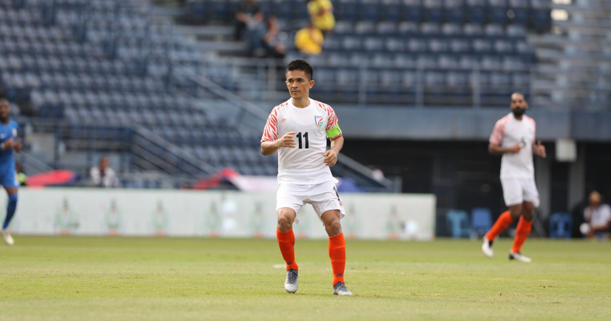 Football: Sunil Chhetri calls for better finishing as India face Afghanistan in World Cup qualifier