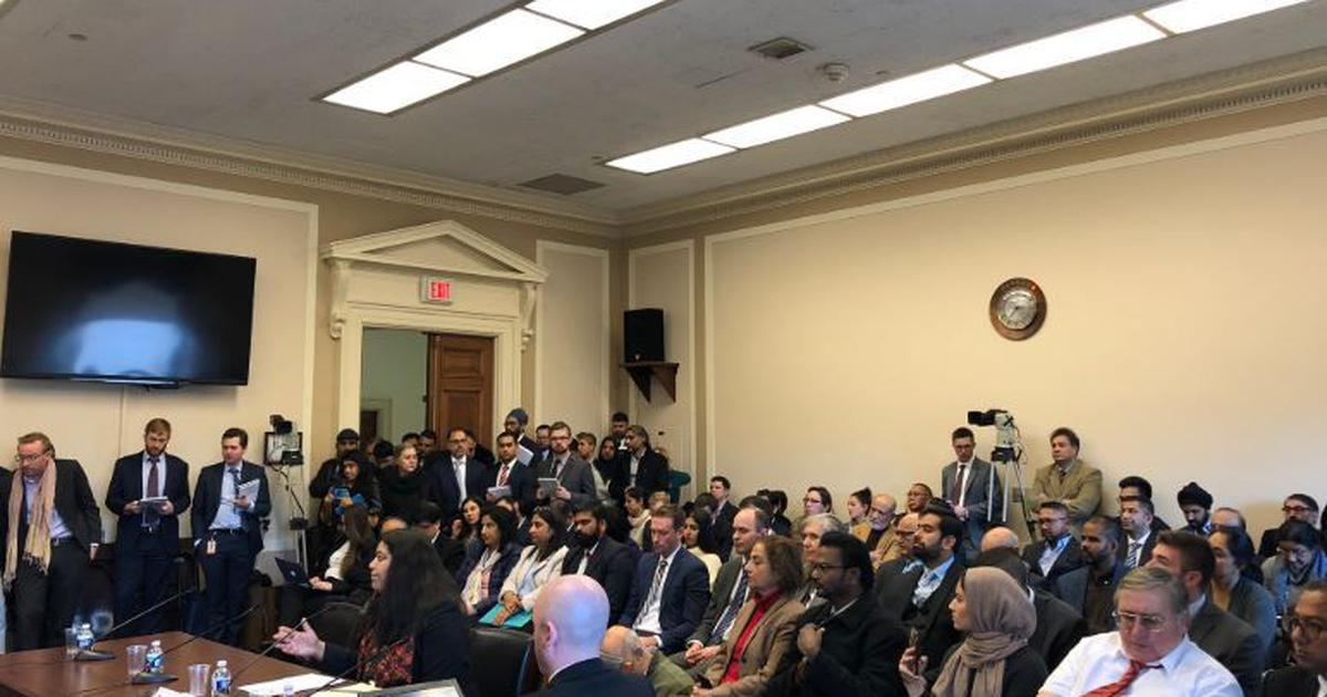 J&K: At second Congressional hearing, US lawmakers express concern over India's actions