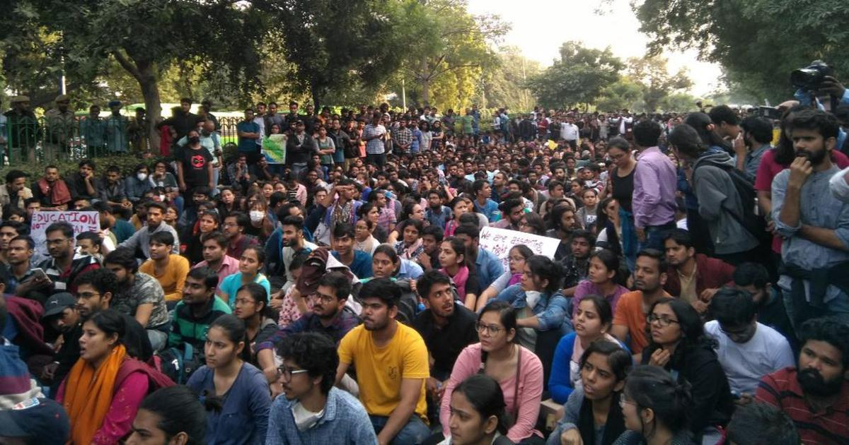 JNU fee hike protest: Teachers' union to demonstrate against 'police brutality' on Tuesday
