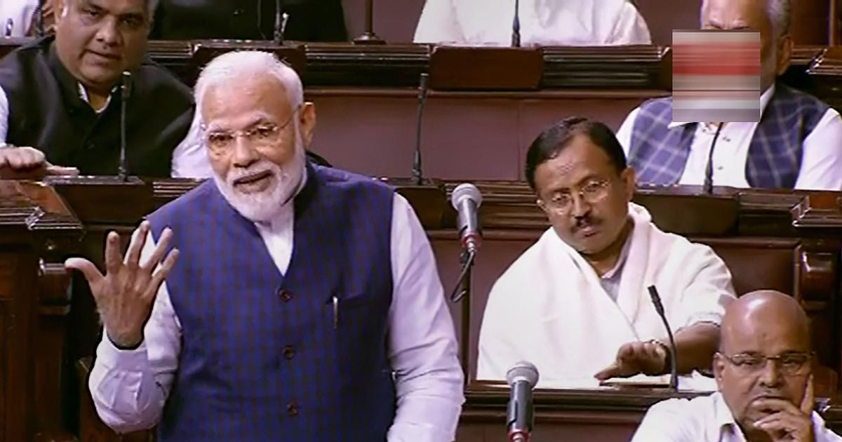 Parliament: Modi hails Rajya Sabha's role as 250th session begins; uproar over J&K detentions in LS