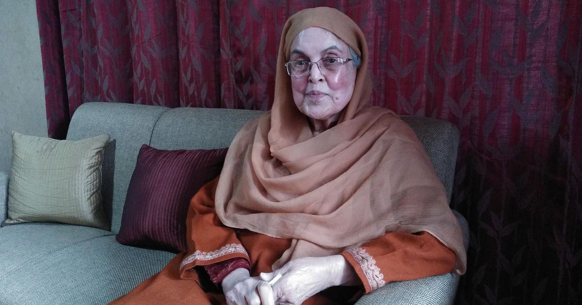 Khalida Shah interview: 'Every Kashmiri leader should think of uniting. That includes separatists'