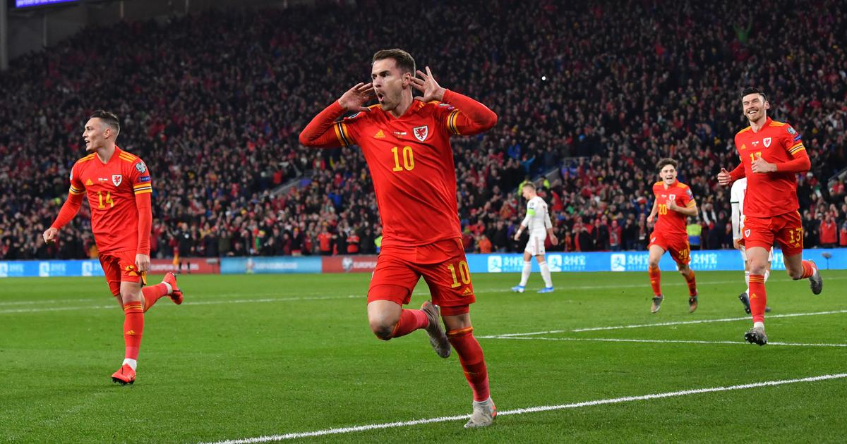 Football: Aaron Ramsey scores two goals as Wales beat Hungary to qualify for Euro 2020