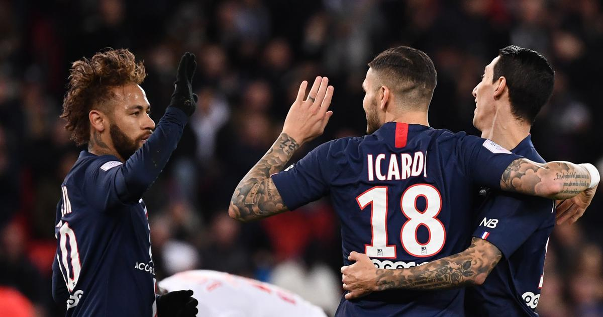 Ligue 1: Icardi, Di Maria on target as PSG beat Lille on Neymar's return from injury