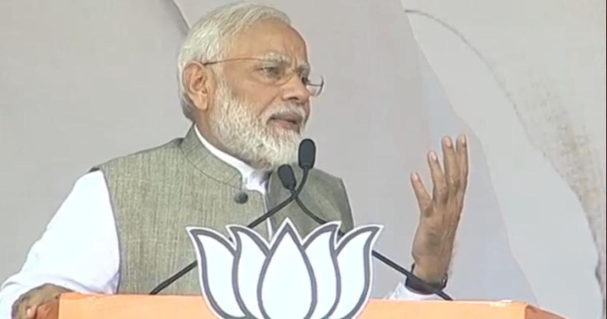 Congress stalled Ayodhya case for decades due to vote bank politics, Modi claims in Jharkhand