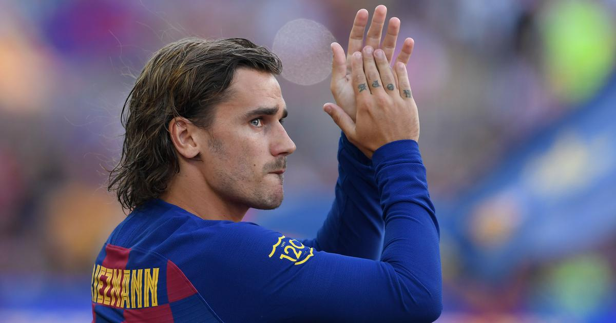 Football: Barcelona's Antoine Griezmann suffers thigh injury, likely to miss rest of the season