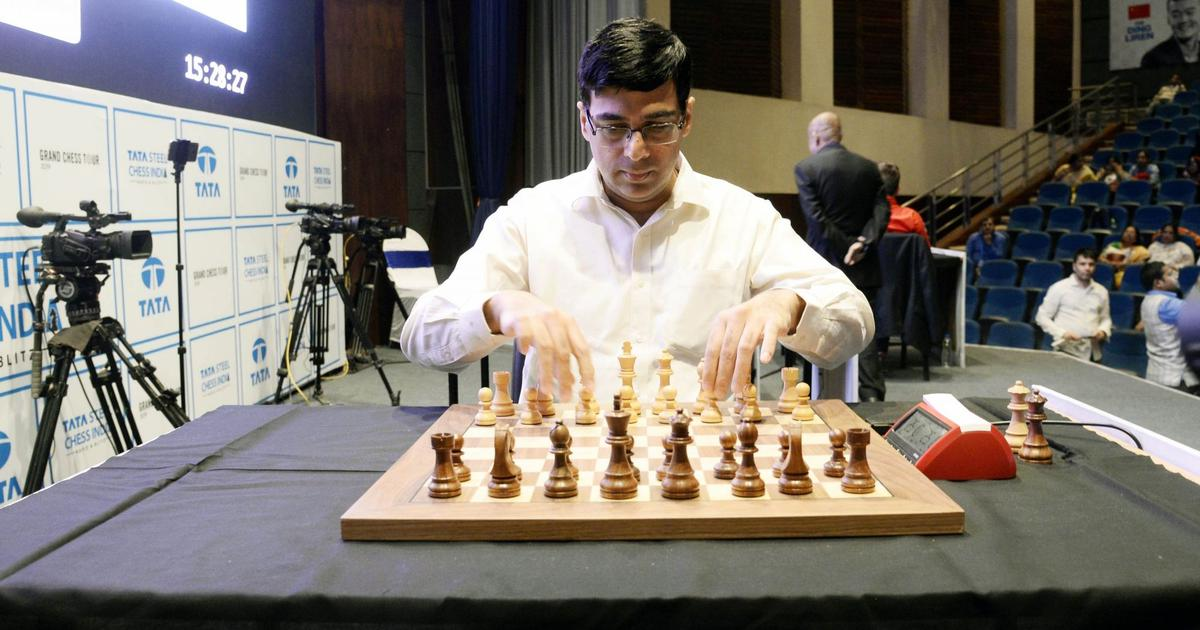 Chess: Viswanathan Anand suffers defeat against USA's Wesley So in round two of Tata Steel Masters