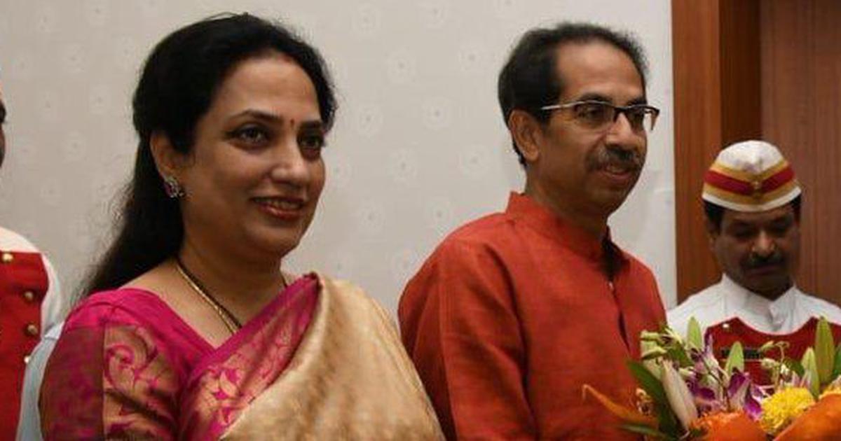 Uddhav Thackeray's wife Rashmi takes over as editor of Shiv Sena mouthpiece 'Saamana'
