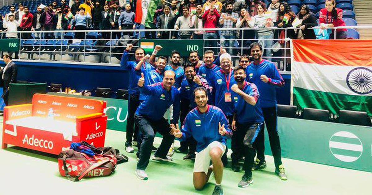 Tennis: Leander Paes extends Davis Cup doubles win record as India seal tie against Pakistan