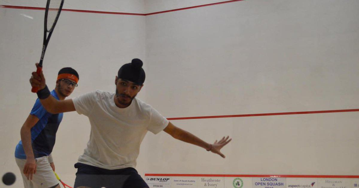 Squash: Abhay Singh loses to second seed Jan Herrewegen in semi-final of Sutton Coldfield