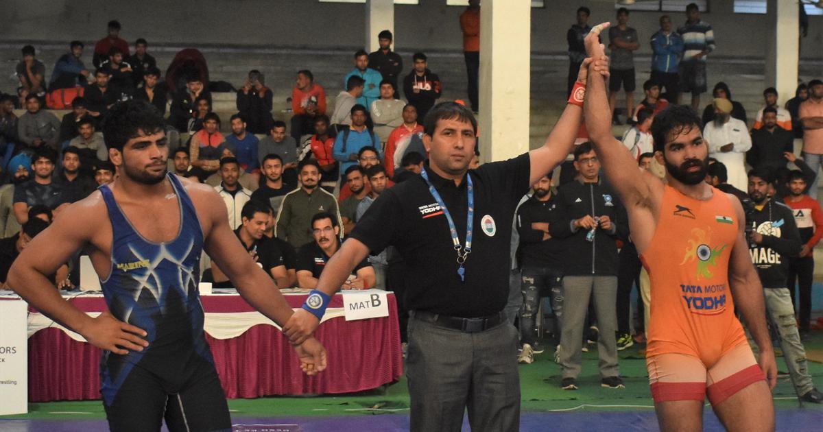 Wrestling: Gurpreet Singh, Sunil Kumar bag gold in final day of senior nationals