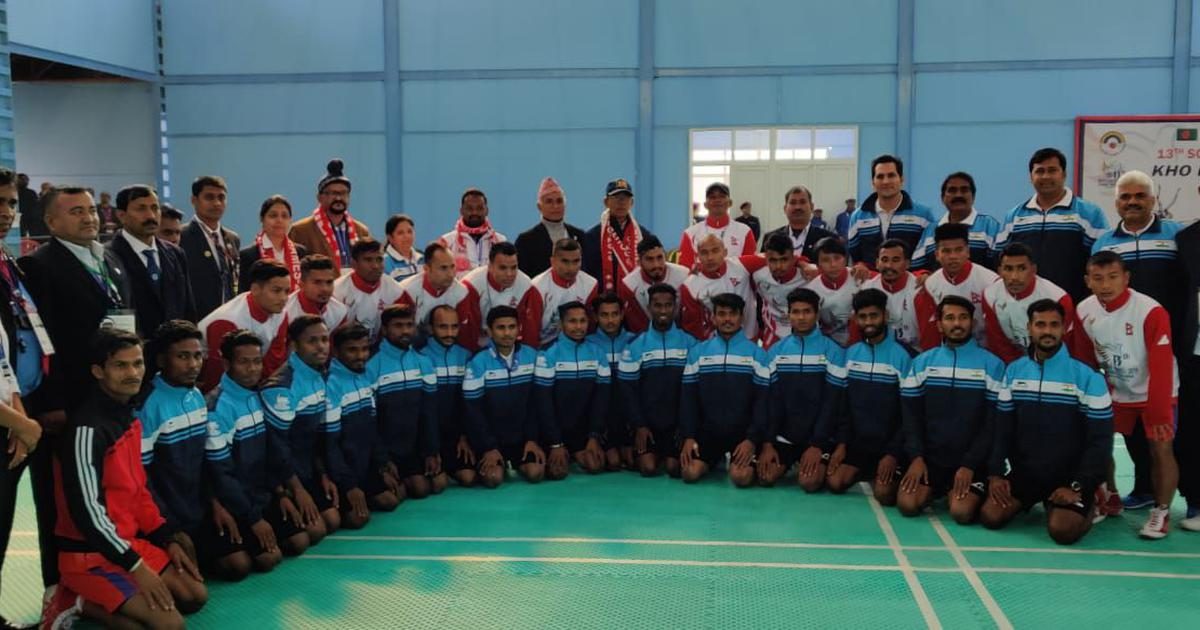 South Asian Games: Indian men's kho kho team enters semi-finals after wins over Nepal, Bangladesh