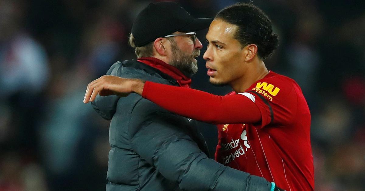 Premier League: Virgil van Dijk deserved to win Ballon d'Or, says Liverpool manager Jurgen Klopp